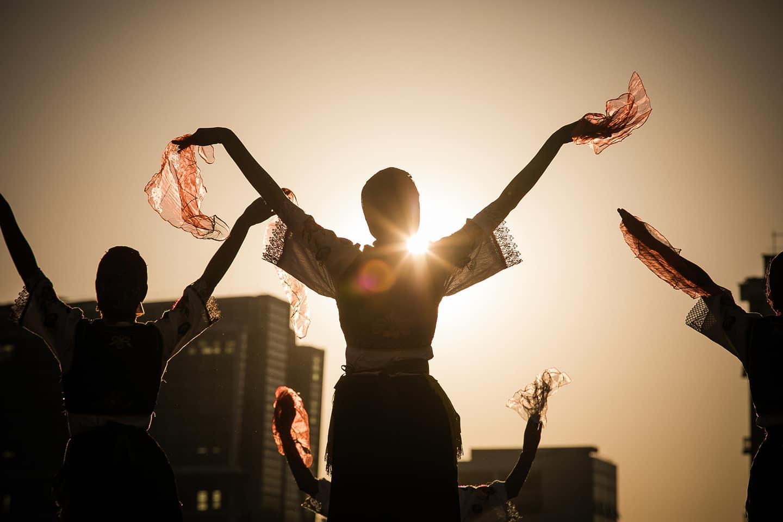 Albania traditional dance