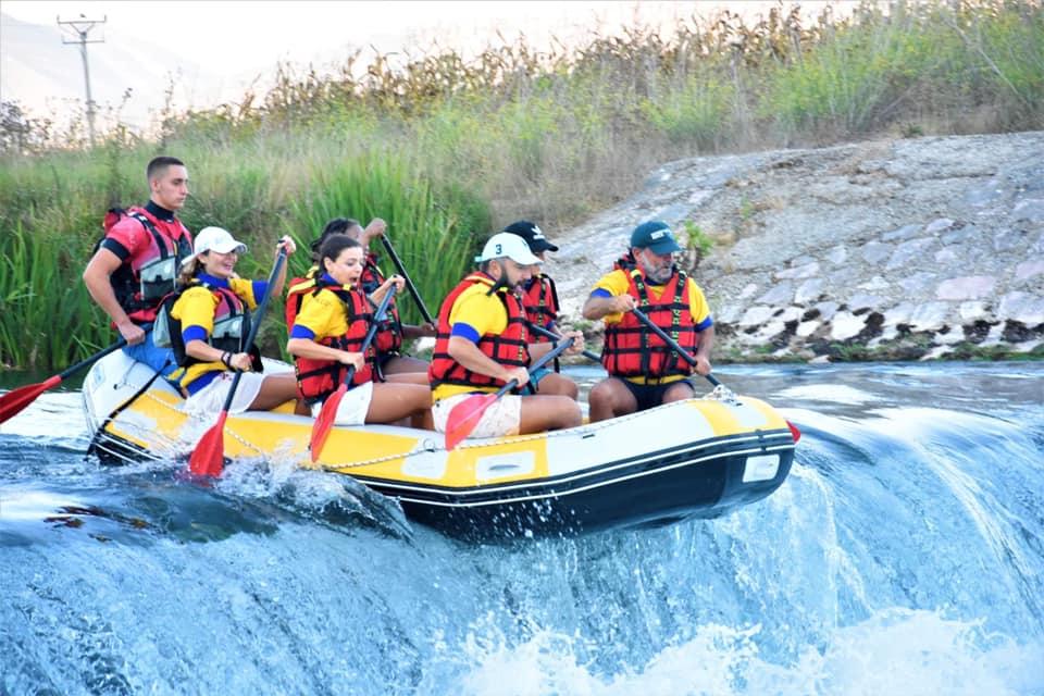 Rafting in bistrica river,Saranda city,Albania